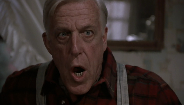 Fred Gwynne as Jud Crandall in Pet Sematary which is a movie based on the Stephen King book Pet Sematary and starring Fred Gwynne in Pet Sematary as Jud Crandall from Pet Sematary.